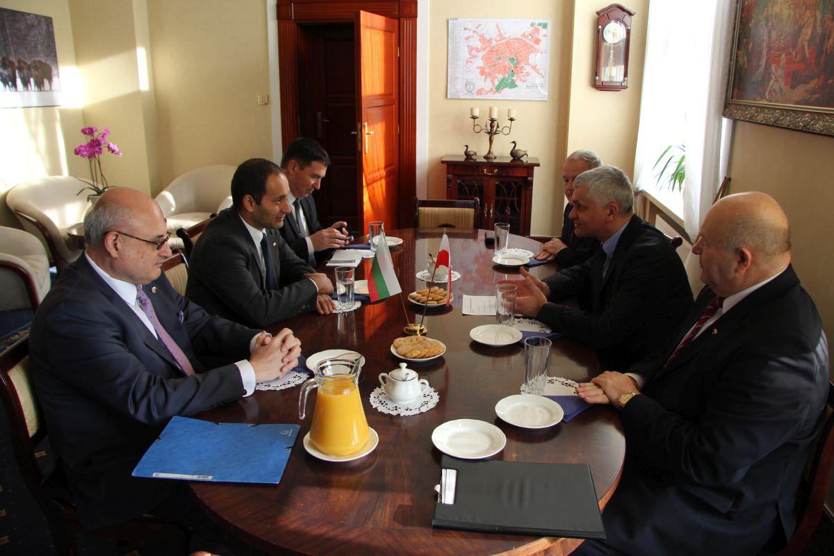 Konsul Honorowy Republiki Bułgarii WITOLD KARCZEWSKI